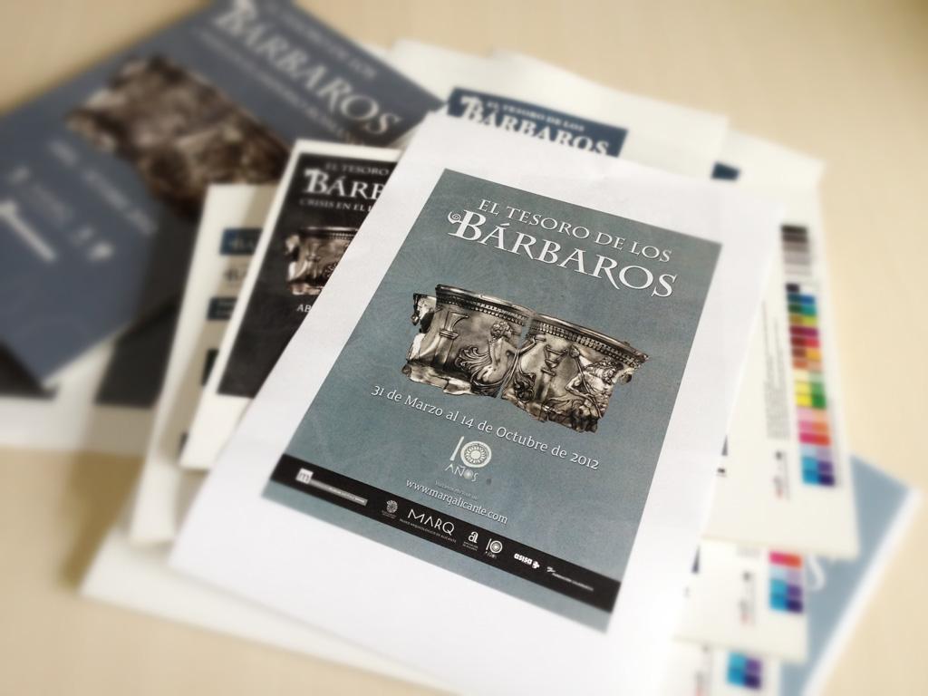 Imagen para la exposición el Tesoro de los barbados - MARQ - Alicante