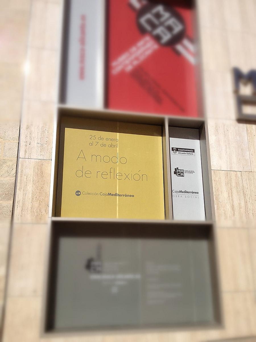 A mode de Reflexión - MACA - Alicante