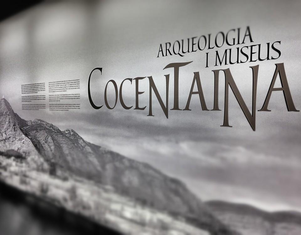 Diseño Exposición de Cocentaina , arqueología i museos