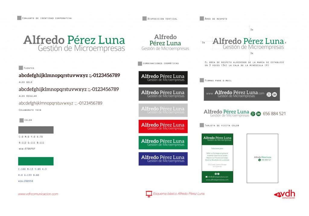 Identidad Corporativa Alfredo Pérez
