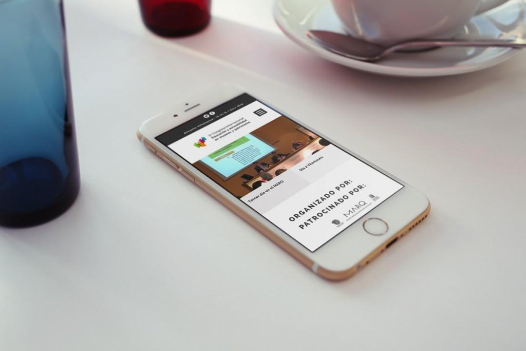 Web Congreso de Accesibilidad - Diseño adaptado