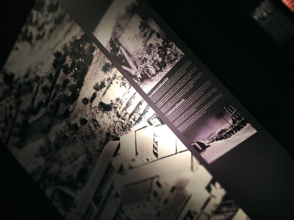 Paneles exposición Cocentaina en el MARQ